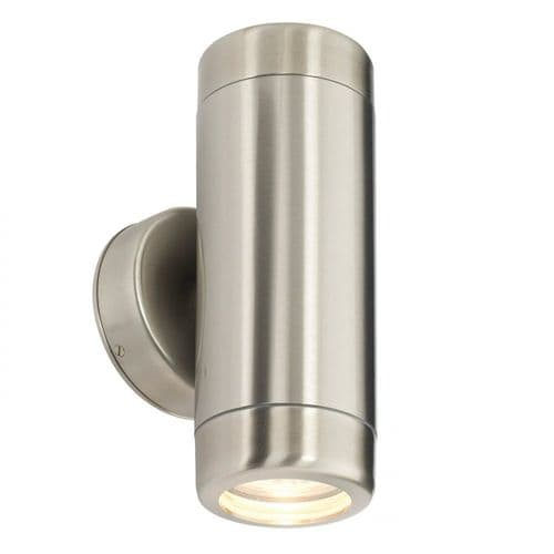 Saxby 14015 Atlantis Outdoor LED Wall Light Non Automatic